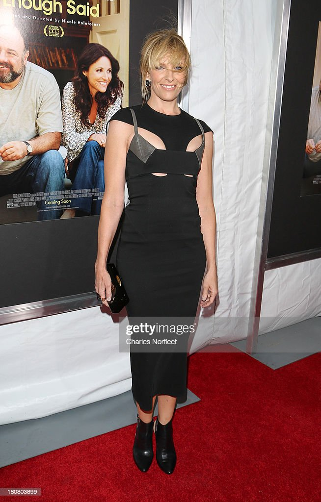Actress <a gi-track='captionPersonalityLinkClicked' href=/galleries/search?phrase=Toni+Collette&family=editorial&specificpeople=204673 ng-click='$event.stopPropagation()'>Toni Collette</a> attends 'Enough Said' New York Screening at Paris Theater on September 16, 2013 in New York City.