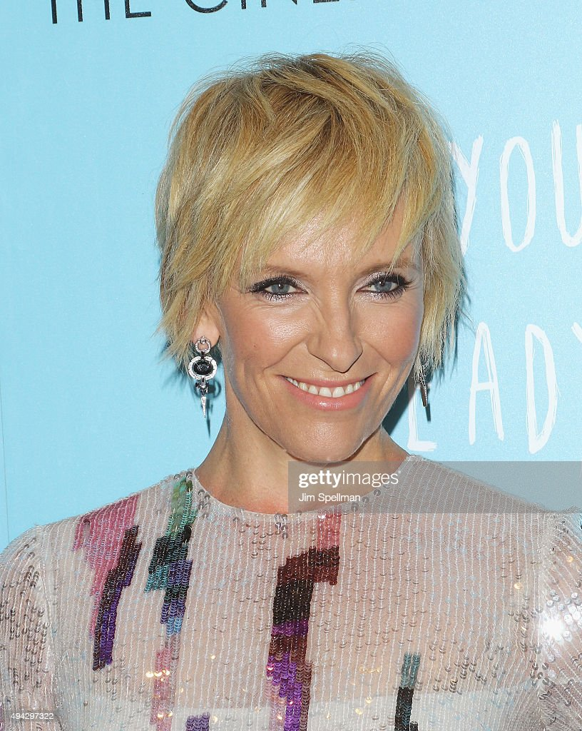Actress <a gi-track='captionPersonalityLinkClicked' href=/galleries/search?phrase=Toni+Collette&family=editorial&specificpeople=204673 ng-click='$event.stopPropagation()'>Toni Collette</a> attends Montblanc & The Cinema Society host a screening of Roadside Attractions & Lionsgate's New York premiere of 'Miss You Already' at Museum of Modern Art on October 25, 2015 in New York City.