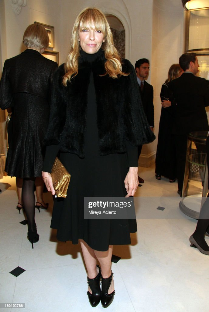 Actress Toni Collette attends Ralph Lauren Presents Exclusive Screening Of Hitchcock's To Catch A Thief Celebrating The Princess Grace Foundation at Ralph Lauren Women's Store on October 28, 2013 in New York City.