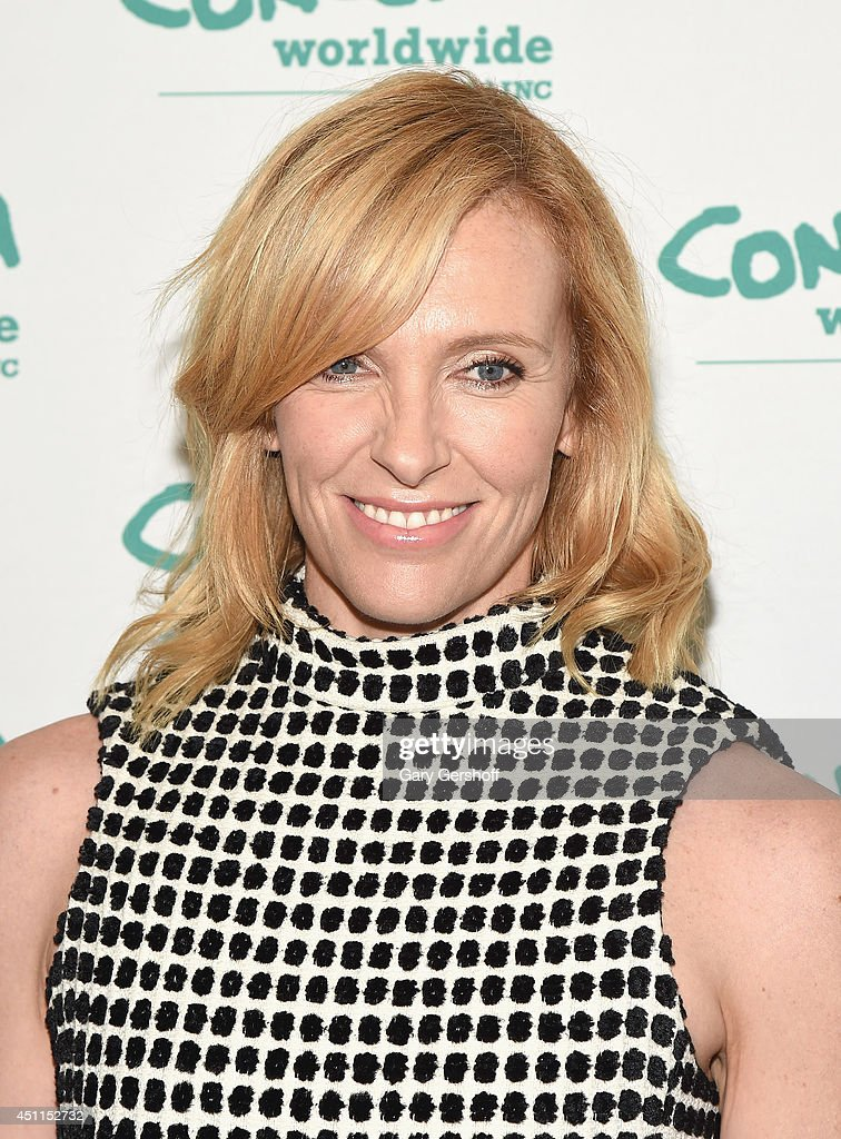Actress <a gi-track='captionPersonalityLinkClicked' href=/galleries/search?phrase=Toni+Collette&family=editorial&specificpeople=204673 ng-click='$event.stopPropagation()'>Toni Collette</a> attends the 12th 'Annual Women Of Concern' awards at The Pierre Ballroom on June 24, 2014 in New York City.