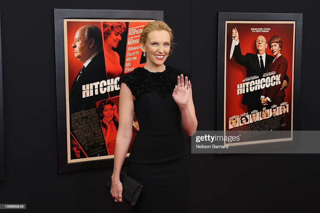 Actress Toni Collette attends the 'Hitchcock' New York Premiere at Ziegfeld Theater on November 18, 2012 in New York City.