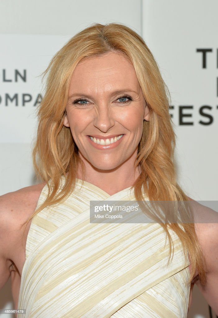 Actress Toni Collette attends the 'Lucky Them' Premiere during the 2014 Tribeca Film Festival at BMCC Tribeca PAC on April 21, 2014 in New York City.