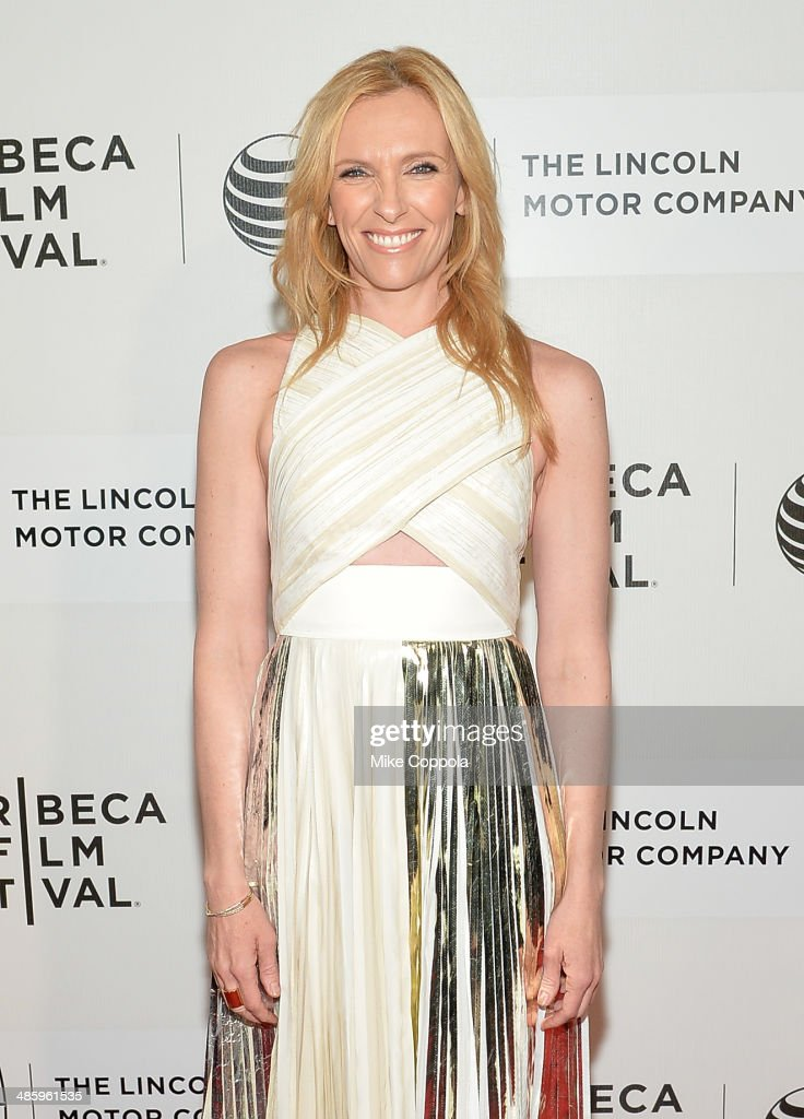 Actress <a gi-track='captionPersonalityLinkClicked' href=/galleries/search?phrase=Toni+Collette&family=editorial&specificpeople=204673 ng-click='$event.stopPropagation()'>Toni Collette</a> attends the 'Lucky Them' Premiere during the 2014 Tribeca Film Festival at BMCC Tribeca PAC on April 21, 2014 in New York City.