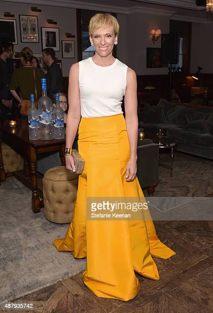 Actress Toni Collette attends the Miss You Already TIFF party hosted by GREY GOOSE Vodka and Soho House Toronto at Soho House Toronto on September 12...