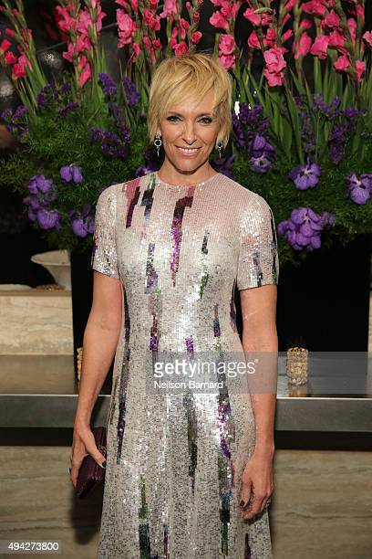Actress Toni Collette attends the Montblanc The Cinema Society screening of Roadside Attractions Lionsgate's 'Miss You Already' at The Rainbow Room...