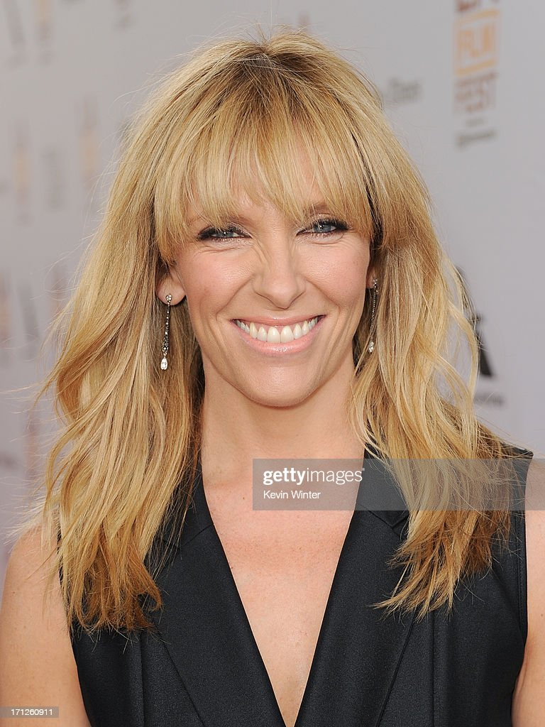 Actress <a gi-track='captionPersonalityLinkClicked' href=/galleries/search?phrase=Toni+Collette&family=editorial&specificpeople=204673 ng-click='$event.stopPropagation()'>Toni Collette</a> attends the premiere of Fox Searchlight Pictures' 'The Way, Way Back' at Regal Cinemas L.A. Live on June 23, 2013 in Los Angeles, California.
