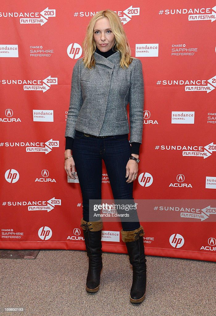 Actress Toni Collette attends the 'The Way, Way Back' premiere at Eccles Center Theatre during the 2013 Sundance Film Festival on January 21, 2013 in Park City, Utah.