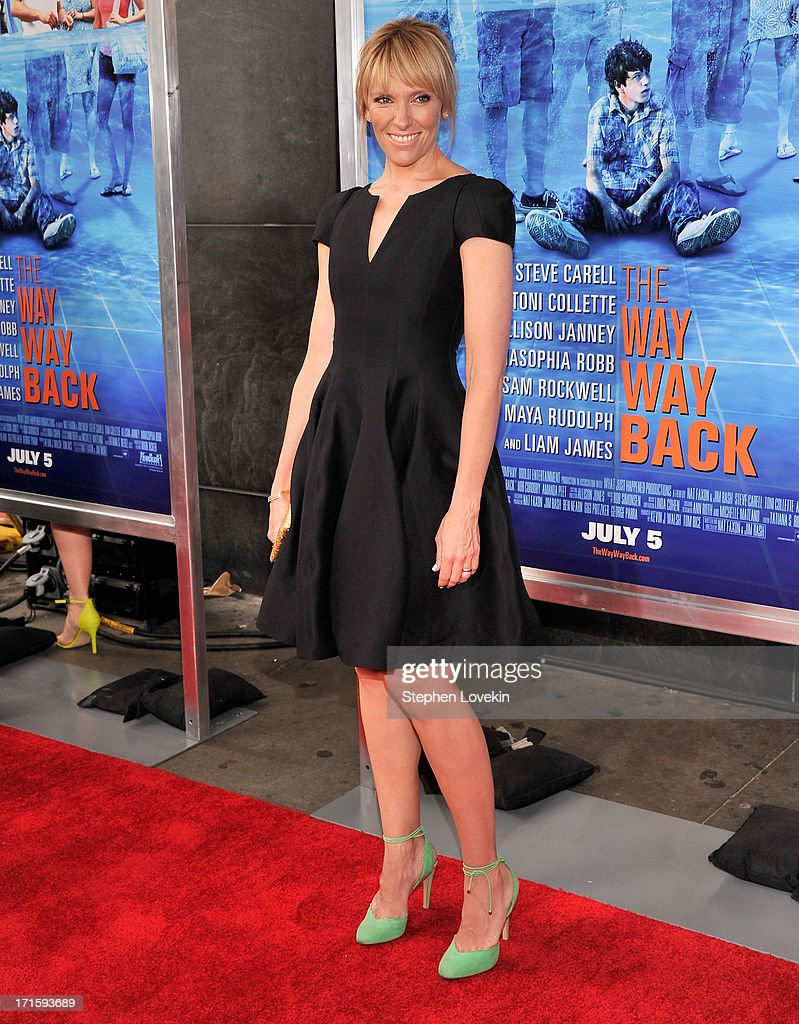 Actress <a gi-track='captionPersonalityLinkClicked' href=/galleries/search?phrase=Toni+Collette&family=editorial&specificpeople=204673 ng-click='$event.stopPropagation()'>Toni Collette</a> attends 'The Way, Way Back ' New York Premiere at AMC Loews Lincoln Square on June 26, 2013 in New York City.