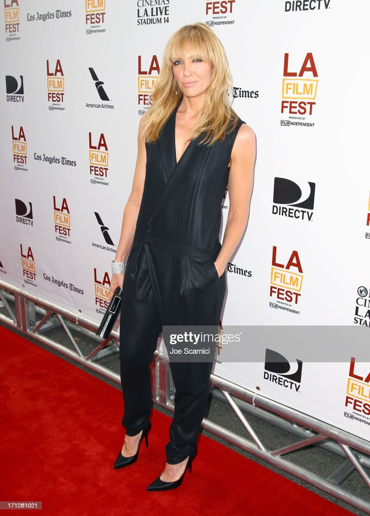 Actress <a gi-track='captionPersonalityLinkClicked' href=/galleries/search?phrase=Toni+Collette&family=editorial&specificpeople=204673 ng-click='$event.stopPropagation()'>Toni Collette</a> attends 'The Way, Way Back' premiere sponsored by DIRECTV during the 2013 Los Angeles Film Festival at Regal Cinemas L.A. Live on June 23, 2013 in Los Angeles, California.