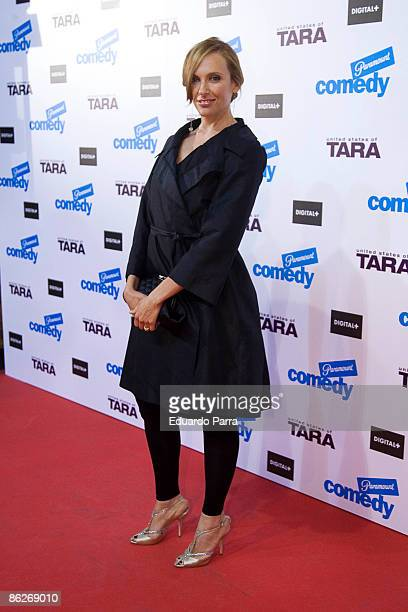 Actress Toni Collette attends 'United States of Tara' premiere at the Capitol Cinema on April 28 2009 in Madrid Spain