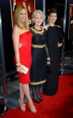 Actress Toni Collette Dame Helen Mirren and actress Jessica Biel arrive at the Premiere Of Fox Searchlight Pictures' 'Hitchcock' at AMPAS Samuel...