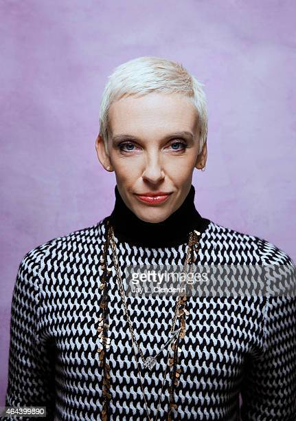 Actress Toni Collette is photographed for Los Angeles Times at the 2015 Sundance Film Festival on January 24 2015 in Park City Utah PUBLISHED IMAGE...