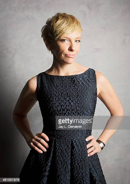 Actress Toni Collette of the film 'Miss You Already' is photographed for Los Angeles Times on September 25 2015 in Toronto Ontario PUBLISHED IMAGE...