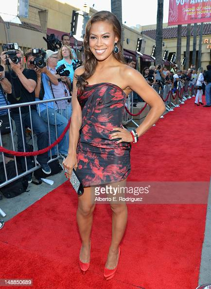 Actress Toni Trucks arrives to the premiere of Fox Searchlight's 'Ruby Sparks' at the Egyptian Theatre on July 19 2012 in Hollywood California