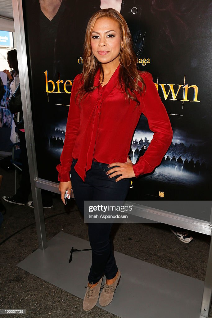 Actress Toni Trucks attends the 'Twilight Saga: Breaking Dawn Part 2' Fan Camp held at L.A. LIVE on November 11, 2012 in Los Angeles, California.