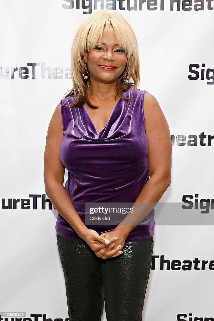 Actress Tonya Pinkins attends 'The Mound Builders' Opening Night Party at Signature Theatre Company's The Pershing Square Signature Center on March 17, 2013 in New York City.