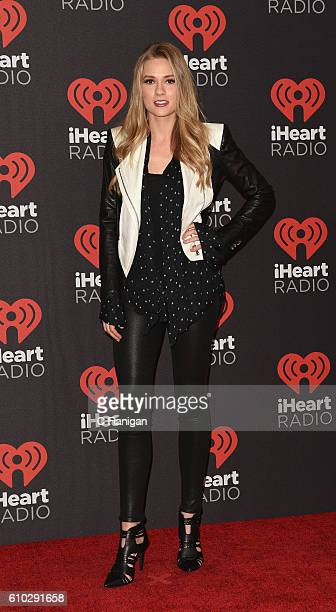 Actress Tori Anderson attends the 2016 iHeartRadio Music Festival Night 2 at TMobile Arena on September 24 2016 in Las Vegas Nevada