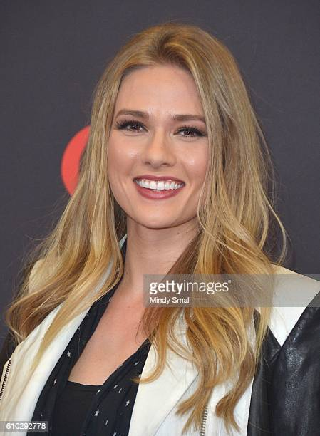 Actress Tori Anderson attends the 2016 iHeartRadio Music Festival at TMobile Arena on September 24 2016 in Las Vegas Nevada