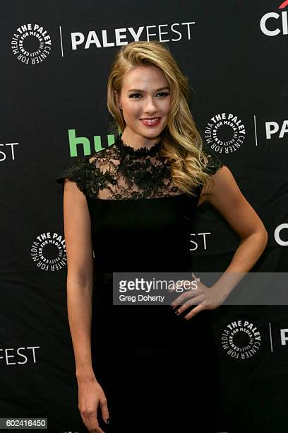Actress Tori Anderson attends The Paley Center For Media's PaleyFest 2016 Fall TV Preview for The CW at The Paley Center for Media on September 10...