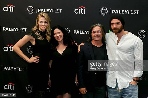 Actress Tori Anderson Executive Producers Maggie Friedman and Brad Silberling and Actor Joshua Sasse attend The Paley Center For Media's PaleyFest...