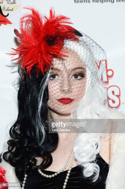 Actress Tori Kostic attends Mateo Simon's Halloween Charity Event on October 28 2017 in Burbank California
