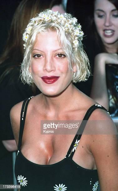 Actress Tori Spelling circa 1992