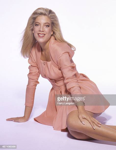 Actress Tori Spelling poses for a portrait in 1992 in Los Angeles California