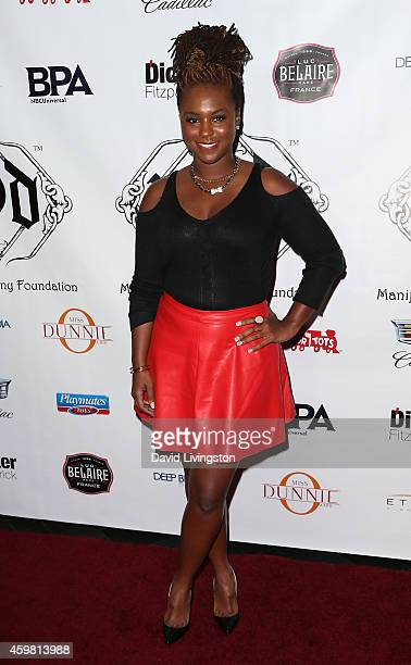Actress Torrei Hart attends the 7th Annual Manifest Your Destiny Toy Drive Fundraiser hosted by Hill Harper and Nate Parker at Avalon on December 1...