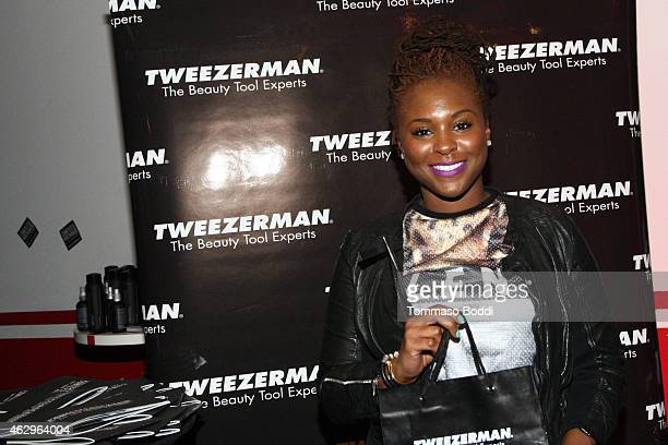 Actress Torrei Hart attends the GBK Music Gift Lounge in honor of the 2015 Grammy Nominees held at The Standard Hotel on February 7 2015 in Los...