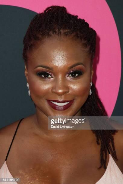 Actress Torrei Hart attends the premiere of Universal Pictures' 'Girls Trip' at Regal LA Live Stadium 14 on July 13 2017 in Los Angeles California