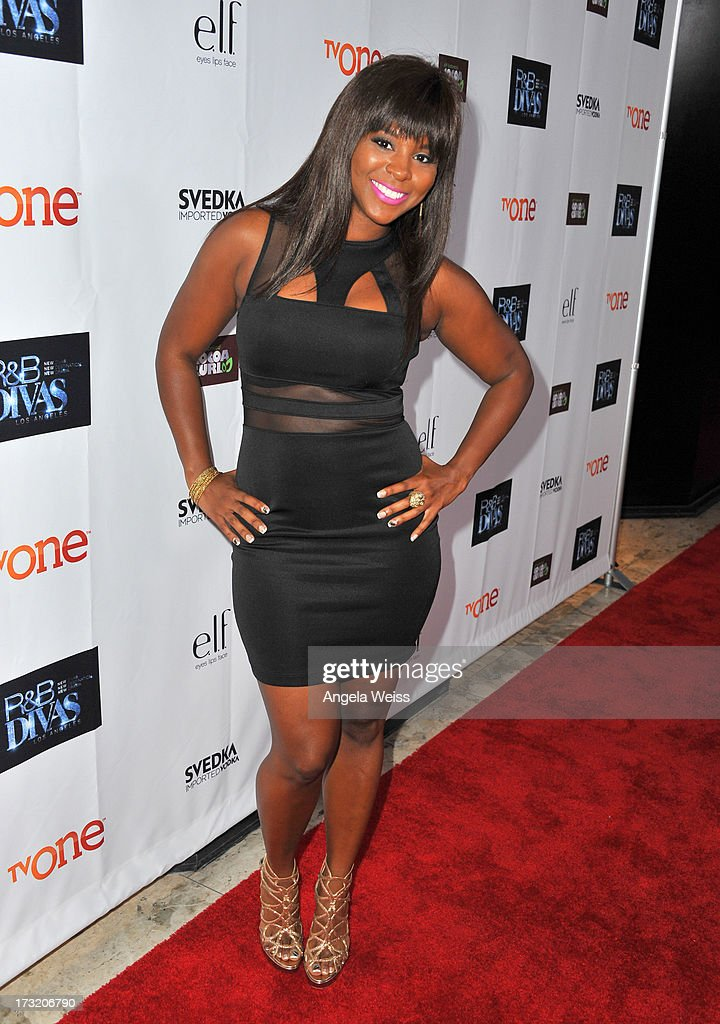 Actress <a gi-track='captionPersonalityLinkClicked' href=/galleries/search?phrase=Torrei+Hart&family=editorial&specificpeople=5637856 ng-click='$event.stopPropagation()'>Torrei Hart</a> attends the 'R&B Divas LA' premiere event at The London on July 9, 2013 in West Hollywood, California.
