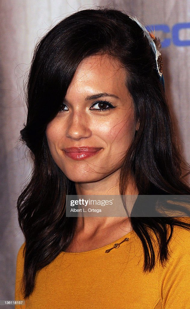 Actress Torrey DeVitto arrives at Spike TV's 'Scream Awards 2011' at Universal Studios Backlot on October 15, 2011 in Universal City, California.