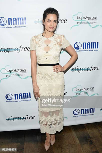 Actress Torrey DeVitto attends the Hope and Grace Luncheon at Sofitel Hotel on May 19 2016 in Los Angeles California