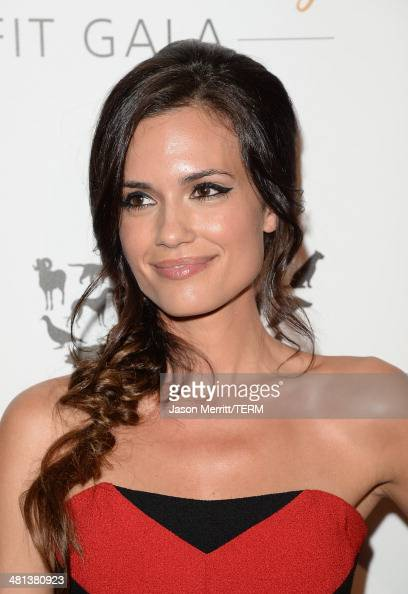 Actress Torrey DeVitto attends the Humane Society of The United States 60th Anniversary Gala at The Beverly Hilton Hotel on March 29 2014 in Beverly...