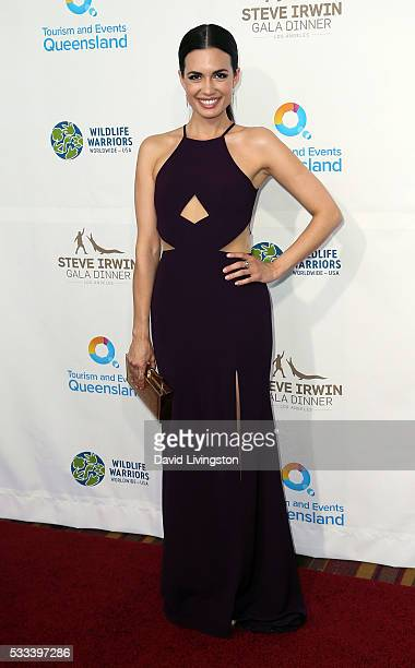 Actress Torrey DeVitto attends the Steve Irwin Gala Dinner at JW Marriott Los Angeles at LA LIVE on May 21 2016 in Los Angeles California