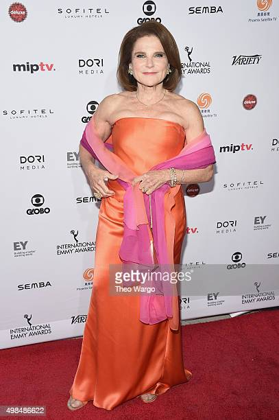 Actress Tovah Feldshuh attends 43rd International Emmy Awards at New York Hilton on November 23 2015 in New York City