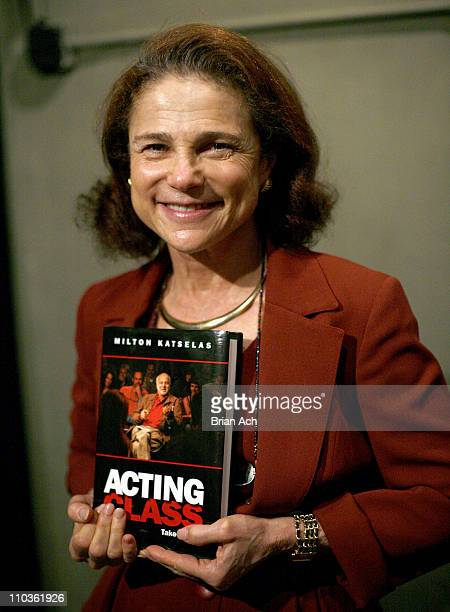 Actress Tovah Feldshuh attends a memorial service for acting teacher Milton Katselas at the Actors Playhouse on November 17 2008 in New York City