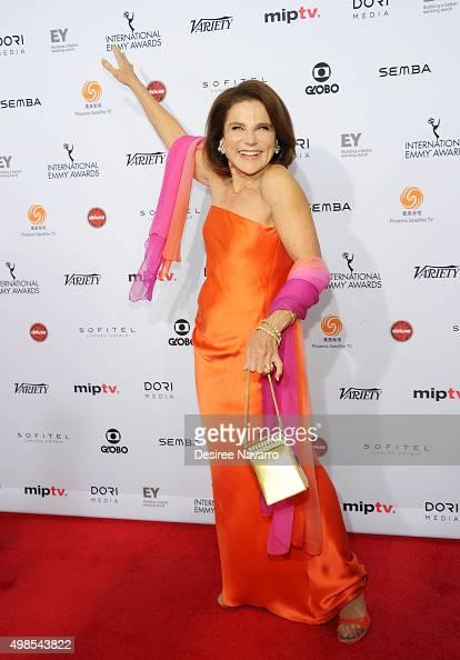 Actress Tovah Feldshuh attends the 43rd International Emmy Awards on November 23 2015 in New York City