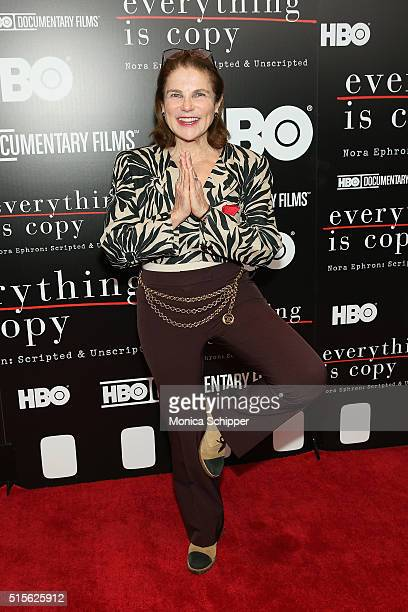 Actress Tovah Feldshuh attends the 'Everything Is Copy Nora Ephron Scripted Unscripted' New York Special Screening at The Museum of Modern Art on...