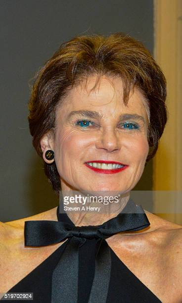 Actress Tovah Feldshuh attends the 'Queen Of The Mean The Rise And Fall Of Leona Helmsley' Play Reading at the Actors Temple Theatre on April 7 2016...