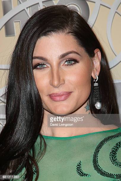 Actress Trace Lysette arrives at HBO's Official Golden Globe Awards after party at the Circa 55 Restaurant on January 8 2017 in Los Angeles California