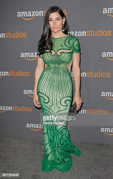 Actress Trace Lysette attends Amazon Studios Golden Globes Party at The Beverly Hilton Hotel on January 8 2017 in Beverly Hills California