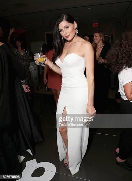 Actress Trace Lysette attends Amazon's Emmy Celebration at Sunset Tower Hotel West Hollywood on September 18 2016 in West Hollywood California