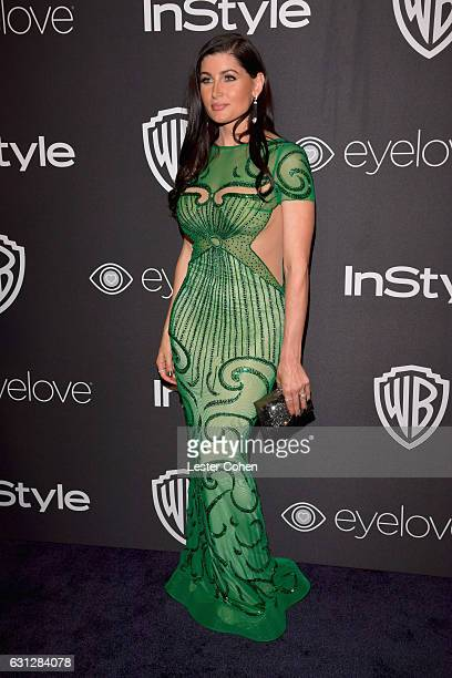 Actress Trace Lysette attends the 18th Annual PostGolden Globes Party hosted by Warner Bros Pictures and InStyle at The Beverly Hilton Hotel on...