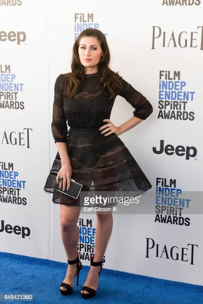 Actress Trace Lysette attends the 2017 Film Independent Spirit Awards on February 25 2017 in Santa Monica California