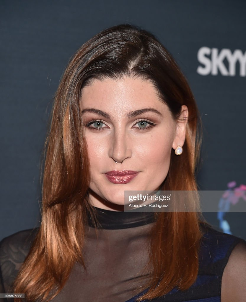 Actress Trace Lysette attends the Premiere Of Amazon's 'Transparent' Season 2 at SilverScreen Theater at the Pacific Design Center on November 9, 2015 in West Hollywood, California.