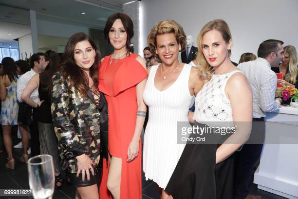 Actress Trace Lysette writer Our Lady J actress Alexandra Billings and writer Zackary Drucker attend as SAKS FIFTH AVENUE celebrates potential EMMY...