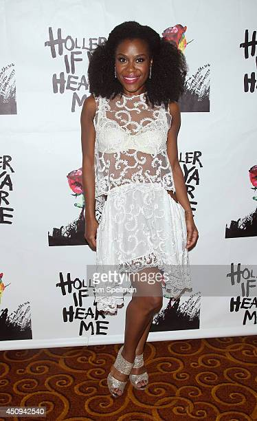 Actress Tracee Beazer attends 'Holler If Ya Hear Me' opening night after party at Gotham Hall on June 19 2014 in New York City