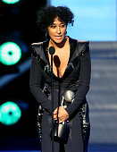 Actress Tracee Ellis Ross accepts award for Outstanding Actress in a Comedy Series for 'Blackish' onstage during the 47th NAACP Image Awards...