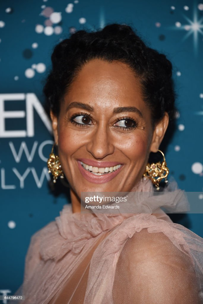 Actress Tracee Ellis Ross arrives at the Essence 10th Annual Black Women in Hollywood Awards Gala at the Beverly Wilshire Four Seasons Hotel on February 23, 2017 in Beverly Hills, California.